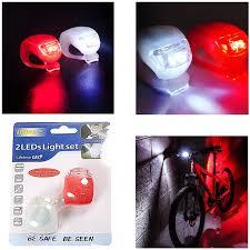 Cặp đèn LED 2 bóng gắn xe đạp HJ008-2 nhiều chế độ dmx@msss#1D0