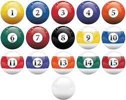 Amazon Com 16 Realistic Color Billiard Balls Wall Decal Sticker Game Room Sign Decor 10in X 10in Size 6089 Easy To Apply Removable Home Kitchen