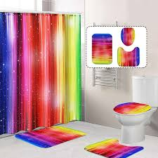 waterproof polyester shower curtains