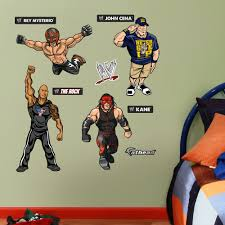 Shop Fathead Jr Wwe Kids Collection Wall Decals Overstock 9601351