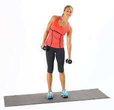 standing ab exercises with weights