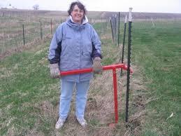 Steel Fence Post Puller