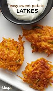 easy sweet potato latkes recipe