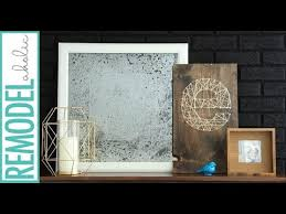 diy antique mirror from a picture frame