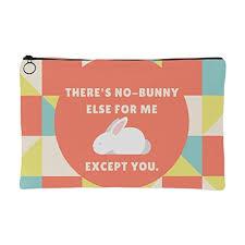 com love quotes no bunny else for me travel organizer