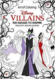 com art of coloring disney villains images to