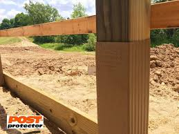 In Ground 6x6 Post Without Ground Contact Fence Post Installation Pole Barn Homes Diy Fence