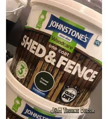 Johnstone S Shed Fence Paint 9l In J M Thorne Decor Facebook