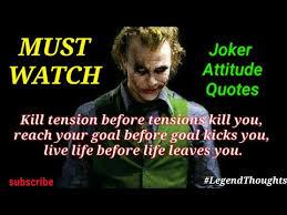 top joker attitude quotes what s app status new quotes news