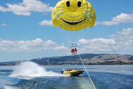 katoa lake rotorua parasailing