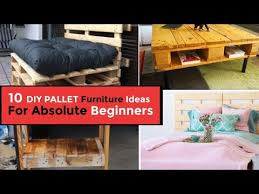 easy and pallet furniture ideas