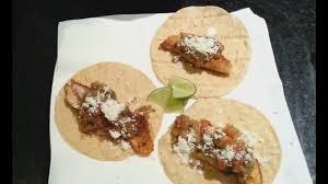 super easy tilapia fish tacos and hot