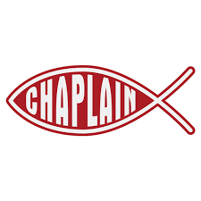 Chaplain Christian Fish Decal