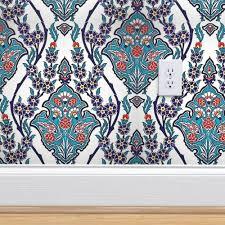 ottoman iznik wall ceramic carnations