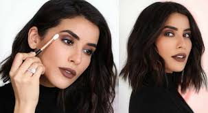 makeup for black hair and black eyes