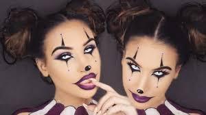 creepy clown halloween makeup