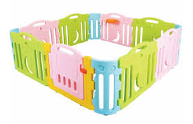 Buy Baby Playpen Kid Activity Center Fence Non Toxic Panel Safety Playpen Game Fence Infant Playground Online Shop Toys Outdoor On Carrefour Uae