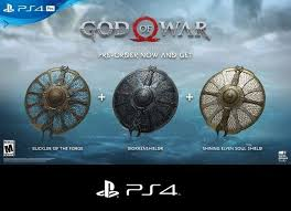 Free Ps4 God Of War Dlc 3 Shield Skins Video Game Prepaid Cards Codes Listia Com Auctions For Free Stuff