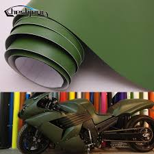 Adhesive Matte Vinyl Film Car Wrap Matt Army Green Scooter Motorcycle Pvc Decal Roll Car Wrap Matte Vinyl Filmvinyl Film Aliexpress