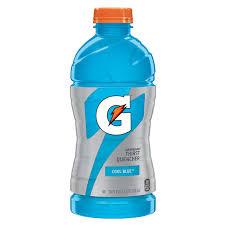 gatorade cool blue 28 oz plastic