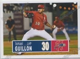 2018 Harrisburg Senators Ismael Guillon – Go Sports Cards