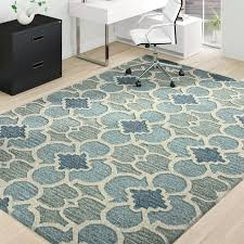 hand tufted wool multicolor area rug