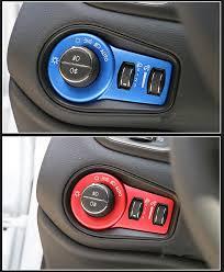 Car Light Switch Cover Car Sticker Suitable For Fiat 500x 2014 2015 2016 Car Styling Accessories Car Sticker Car Stylingcar Light Sticker Aliexpress