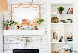 mantel decor update with serena lily