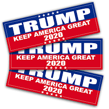 Anley 9 X 3 Inch Trump 2020 Keep America Great Decal Car And Truck Reflective Bumper Stickers 2020 United States Presidential Election 3 Pack Walmart Com Walmart Com