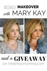 boho makeover with mary kay style