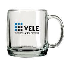 nordic clear glass coffee mug the