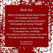 christian christmas poems for cards