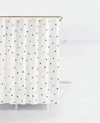 kate spade dots black white cotton