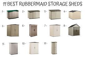 emble a rubbermaid storage shed