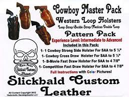 slickbald leather holster patterns