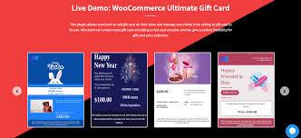best woomerce gift card plugins in
