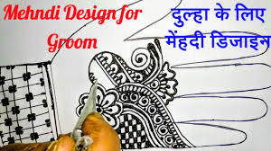 dulha boy mehndi design 2019