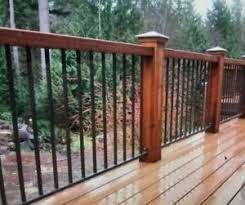 Rod Iron Deck Railing Ideas