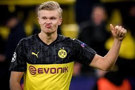 Haaland, 19enne attaccante del Borussia Dortmund.