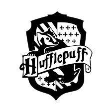 Hufflepuff Crest Vinyl Decal Sticker
