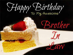 happy birthday brother in law sms