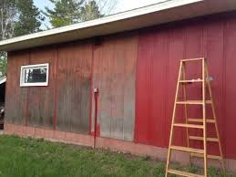 Behr 1 Gal Red Barn And Fence Exterior Paint 02501 The Home Depot Red House Exterior Exterior Paint Barns Sheds