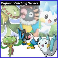 Pokemon Go: Regional Exclusive Catching (Gen 1 to Gen 4, BUy 3 get ...
