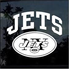 New York Ny Jets Window Decal Sticker Custom Sticker Shop