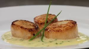 Seared Scallops with Truffle Beurre ...