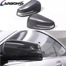 car carbon fiber side door mirror cover