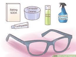 5 ways to repair eyeglasses wikihow