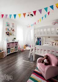 A Modern Rainbow Toddler Bedroom Makeover Reveal The Diy Mommy Toddler Bedroom Makeover Toddler Bedrooms Big Girl Bedrooms