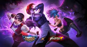 mlbb x kof athena asamiya mobile legends hd