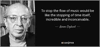 TOP 25 QUOTES BY AARON COPLAND | A-Z Quotes